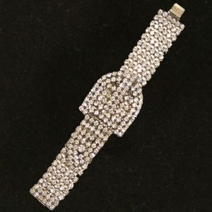 Jewelry - Dark Rhinestone Belt Bracelet